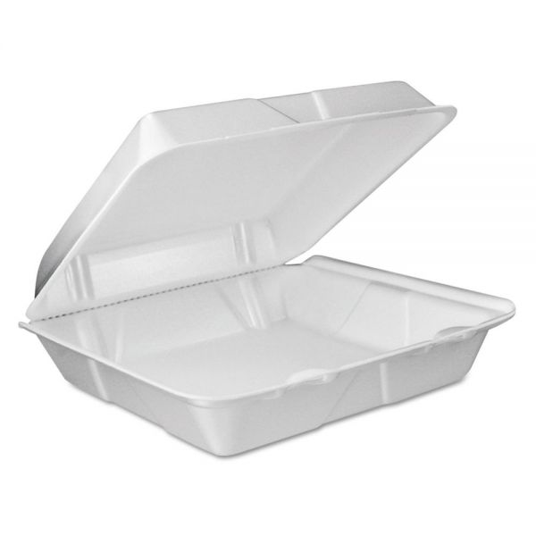 Dart Vented Takeout Foam Clamshell Food Containers
