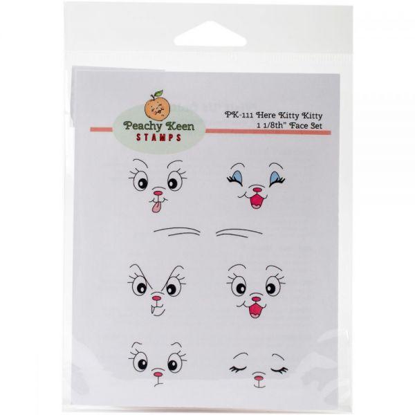 Peachy Keen Stamps Clear Face Assortment 7/Pkg