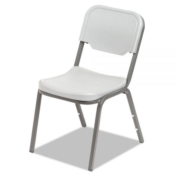Iceberg Rough N Ready Series Plastic Stacking Chairs