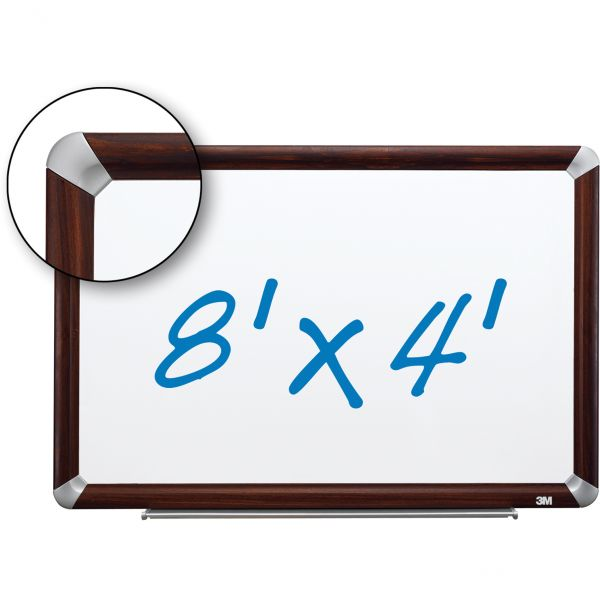 3M 8' x 4' Magnetic Dry Erase Board
