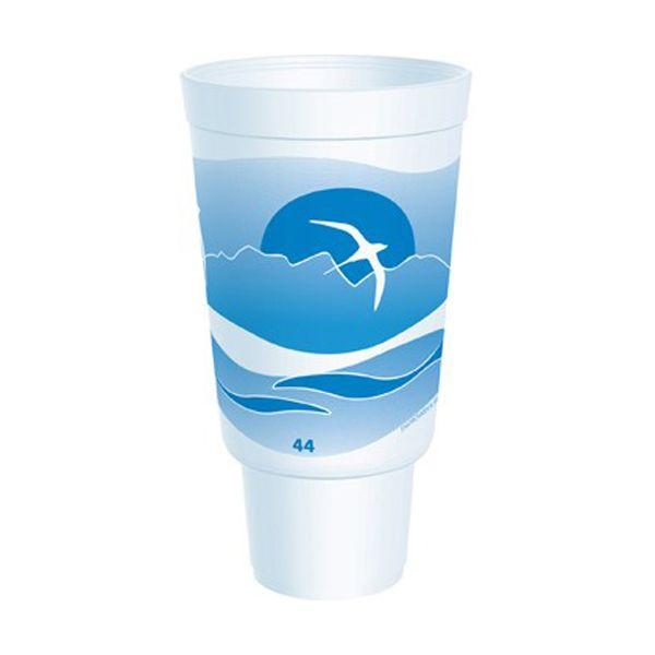Dart Horizon Flush Fill 44 oz Foam Cups