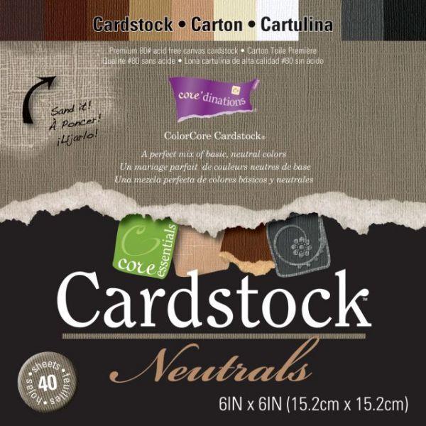 Core'dinations Core Essentials Neutrals Cardstock Pad