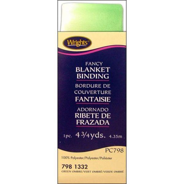 Single Fold Satin Fancy Blanket Binding