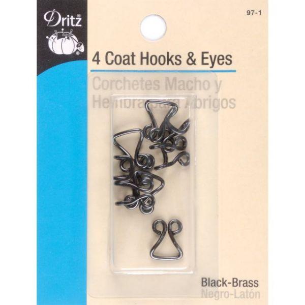 Coat Hooks & Eyes