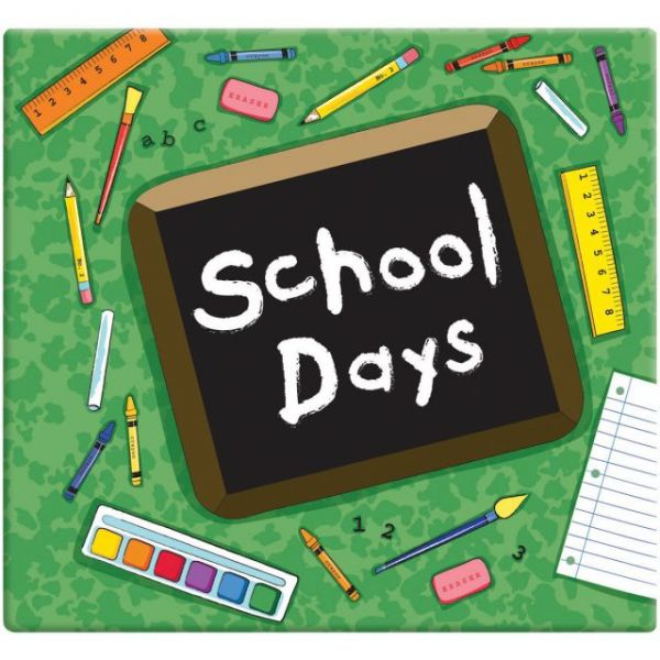 "School Days Album 12""X12"""