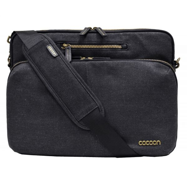 "Cocoon Urban Adventure Carrying Case (Messenger) for 13.3"", Notebook, MacBook - Black"