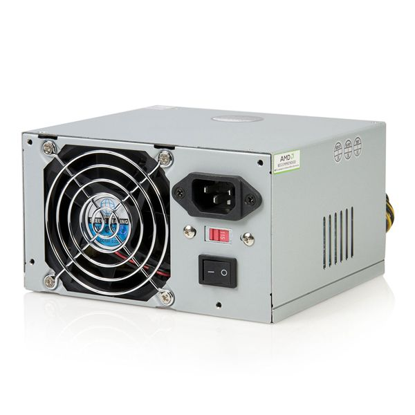 StarTech.com 350 Watt ATX12V 2.01 Computer PC Power Supply w/ 20 & 24 Pin Connector