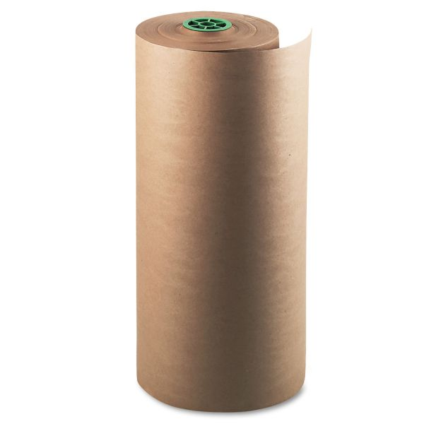 "Pacon Kraft Paper Roll, 50lb, 24""w, 1000'l, Natural, 1/pack"