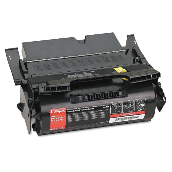 Lexmark 64435XA Black Extra High Yield Toner Cartridge