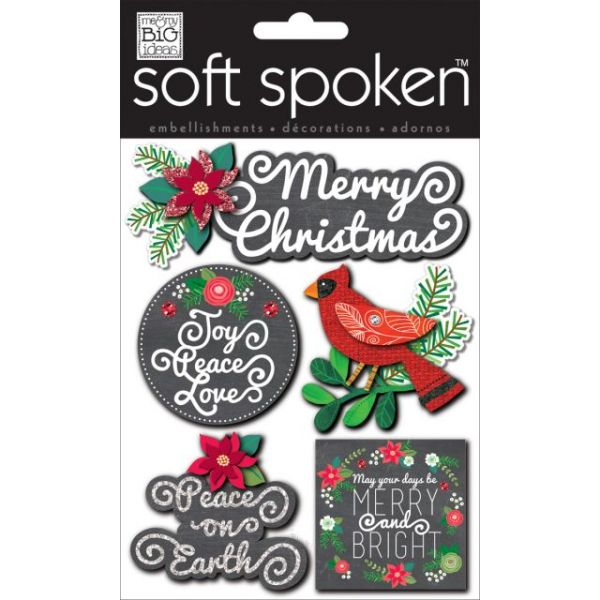 Soft Spoken Themed Embellishments