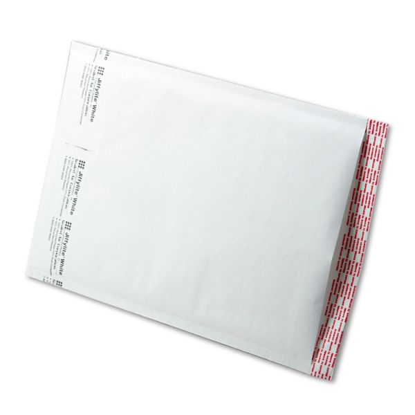 Sealed Air Jiffylite Self Seal Mailer, #4, 9 1/2 x 14 1/2, White, 100/Carton