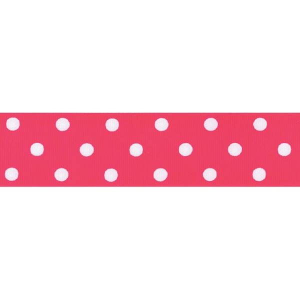 "Polka Dot Wired 1 1/2"" Ribbon"