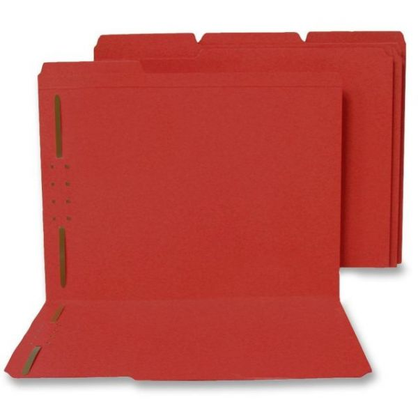 SJ Paper WaterShed & CutLess File Folders With Fasteners