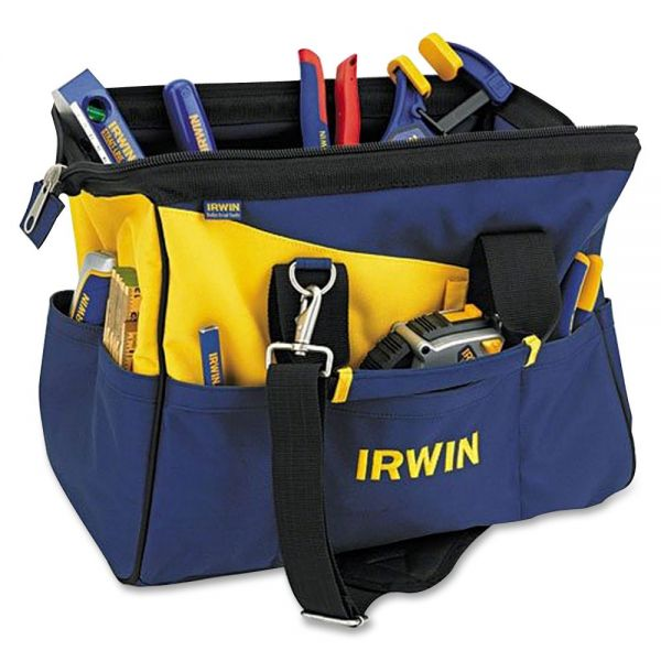 IRWIN Carrying Case for Tools, Tape Measure, Knife - Blue, Yellow