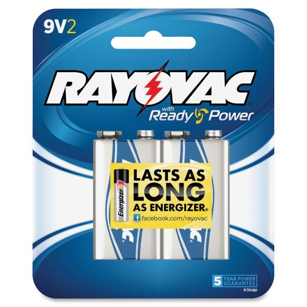 Rayovac 9 Volt Batteries