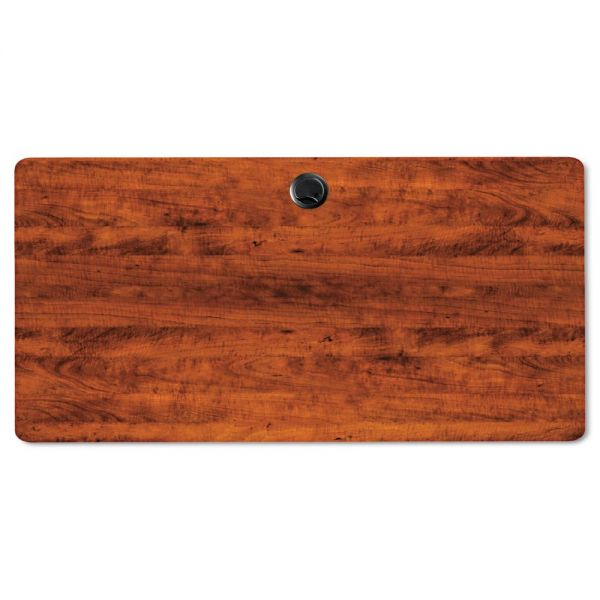 Alera Alera Valencia Series Training Table Top, Rectangular, 47-1/4w x 23-5/8d, Cherry
