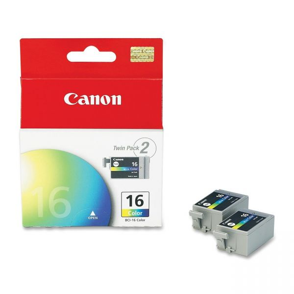 Canon BCI-16 Color Ink Cartridges (9818A003)