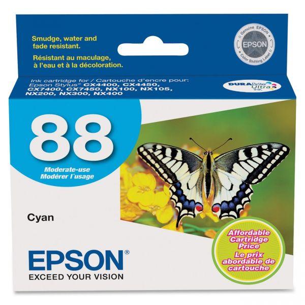 Epson 88 Cyan Ink Cartridge (T088220)