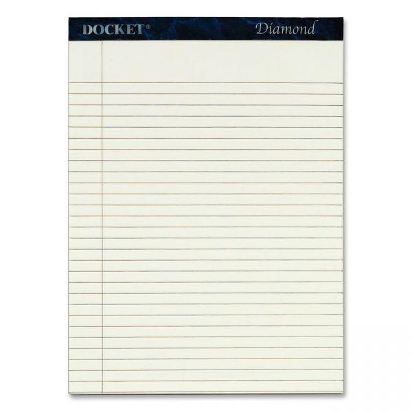 TOPS Docket Diamond Letter-Size Legal Pads