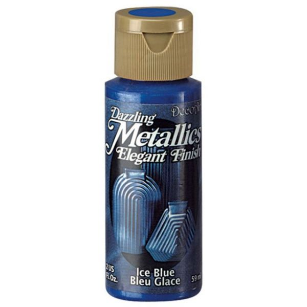 Deco Art Ice Blue Dazzling Metallics Acrylic Paint