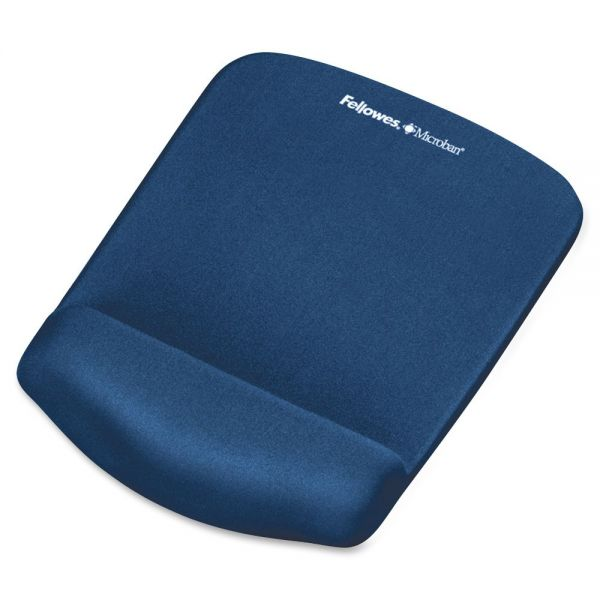 Fellowes PlushTouch Mouse Pad With Wrist Rest