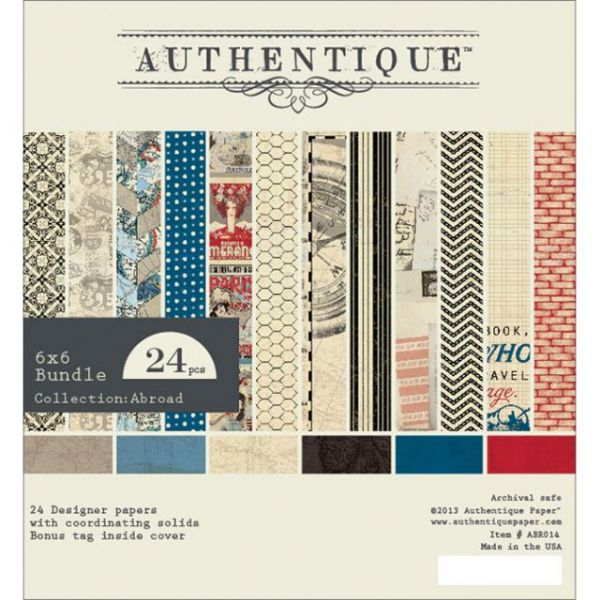 Authentique Bundle Double-Sided Cardstock Pad
