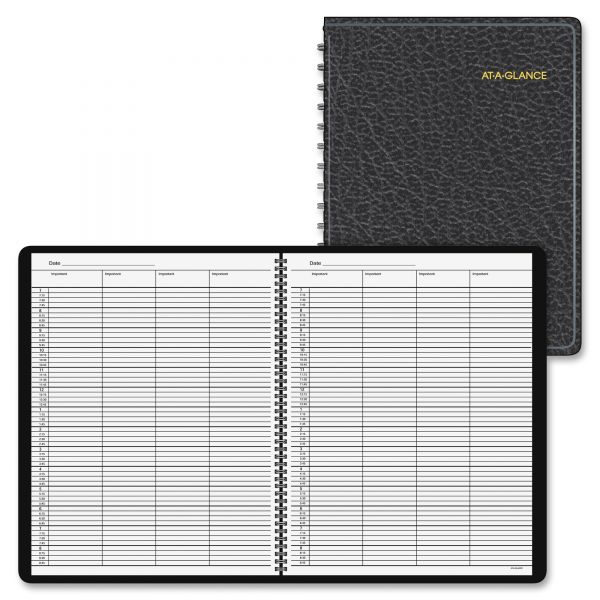 At-A-Glance 4-Person Daily Appointment Book