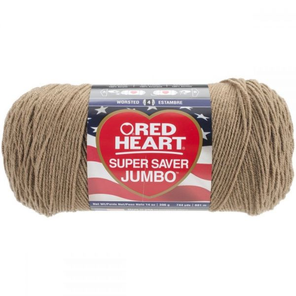Red Heart Super Saver Yarn - Cafe Latte