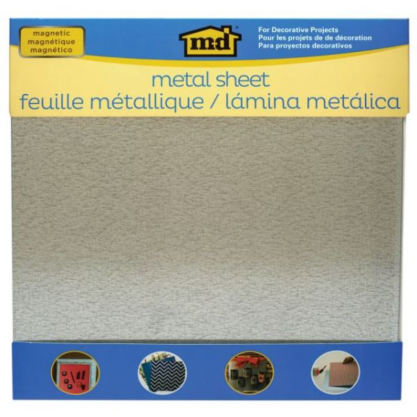 "Magnetic Steel Sheet 12""X12"""