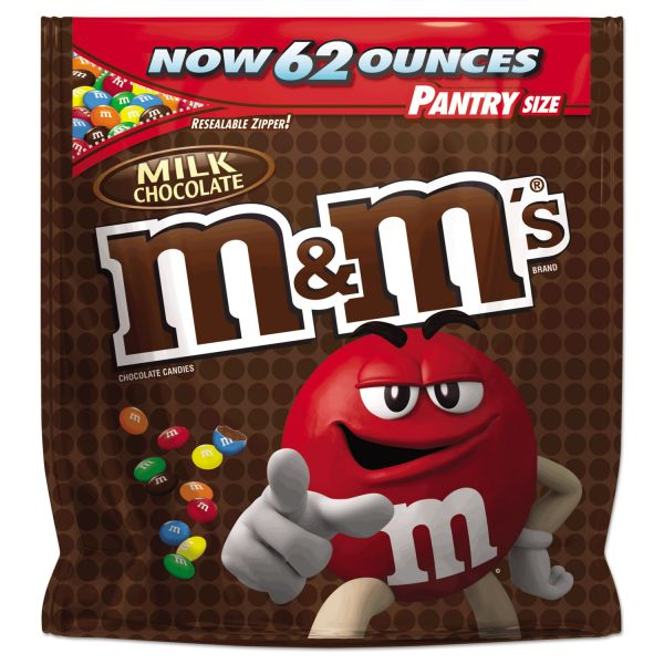 M & M's Milk Chocolate Bite Size Candy (3.5 lbs)