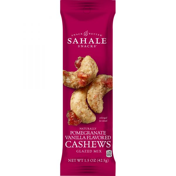 Sahale Snacks Folgers Pomgrt/Vanilla Cashews Glazed Snack Mix