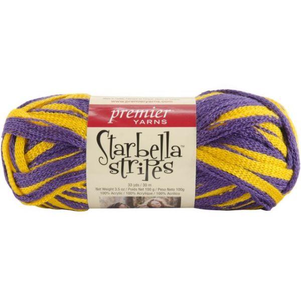 Premier Starbella Stripes Yarn - Medal