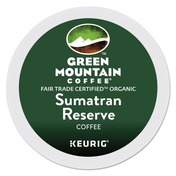 Green Mountain Coffee Fair Trade Organic Sumatran Reserve Coffee K-Cups