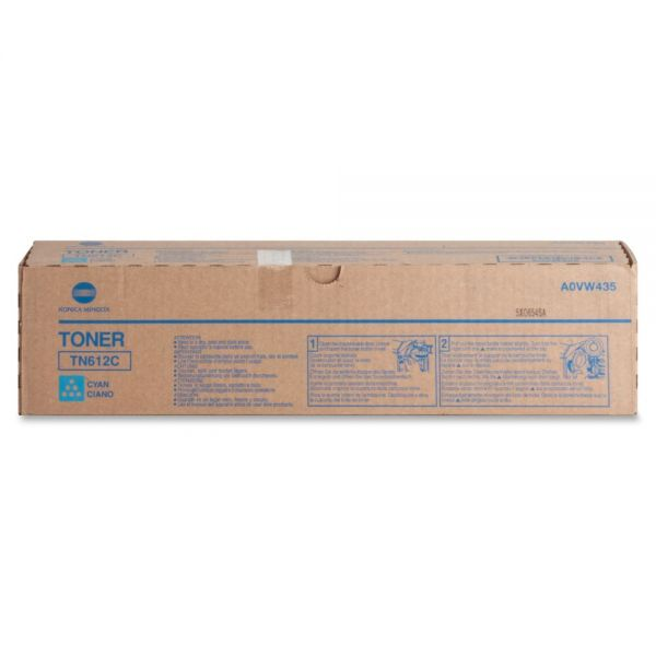 Konica Minolta TN-612C Cyan Toner Cartridge