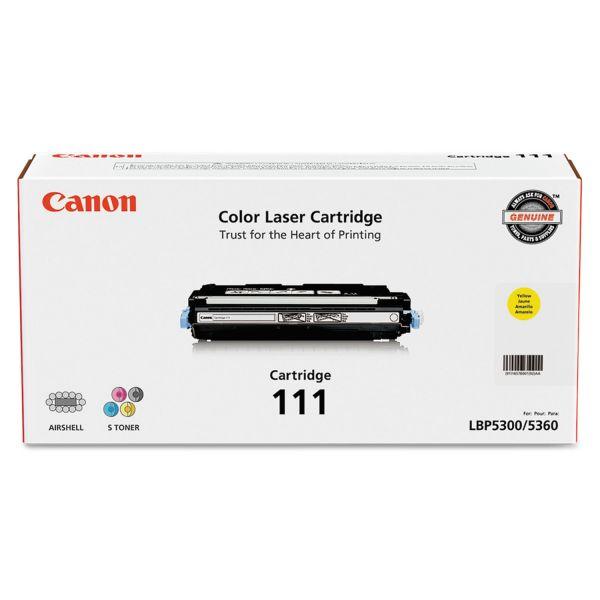 Canon 1657B001 (111) Toner, Yellow