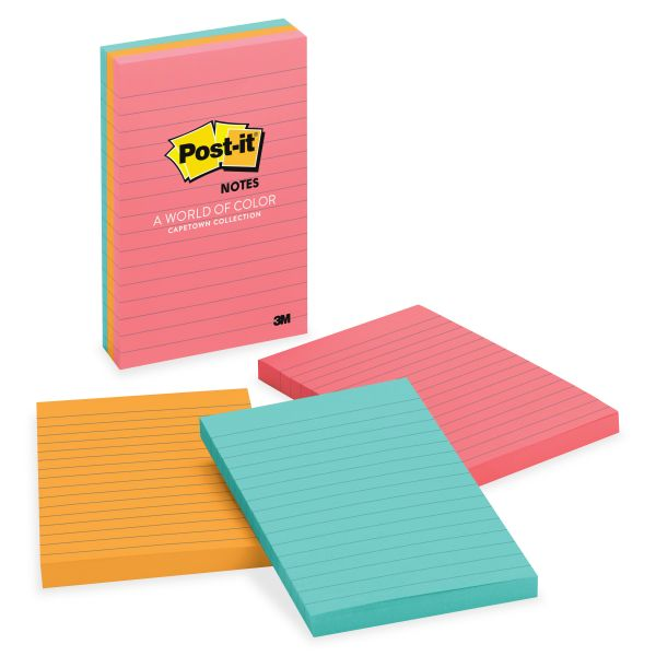 Post-it Ruled/Lined Notes