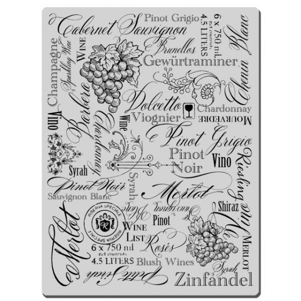 "Stampendous Cling Rubber Stamp 4""X6"" Sheet"