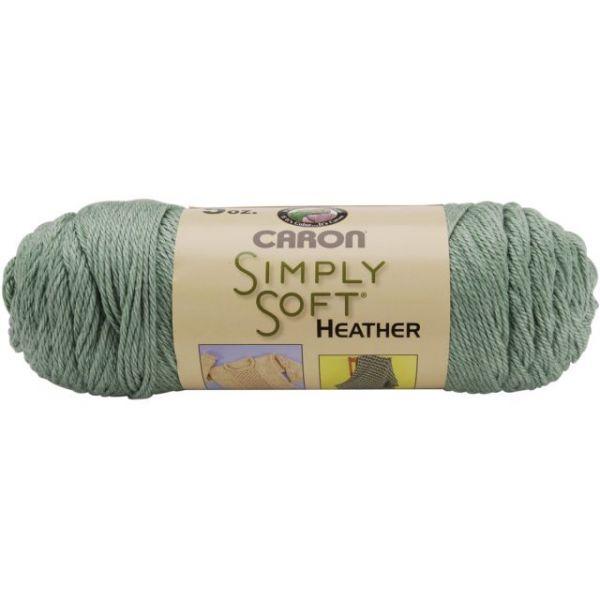 Caron Simply Soft Heather Yarn - Woodland