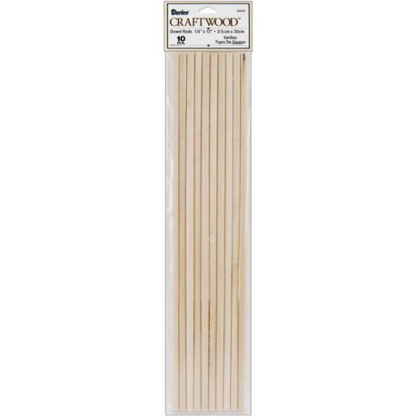 Wood Dowel Rods