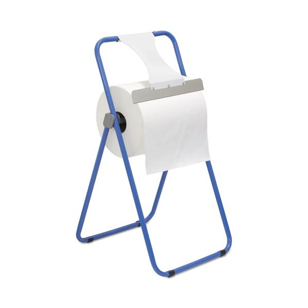 Boardwalk Jumbo Roll Dispenser, Floor Stand, Blue, 16 3/8 x 20 x 33, Steel