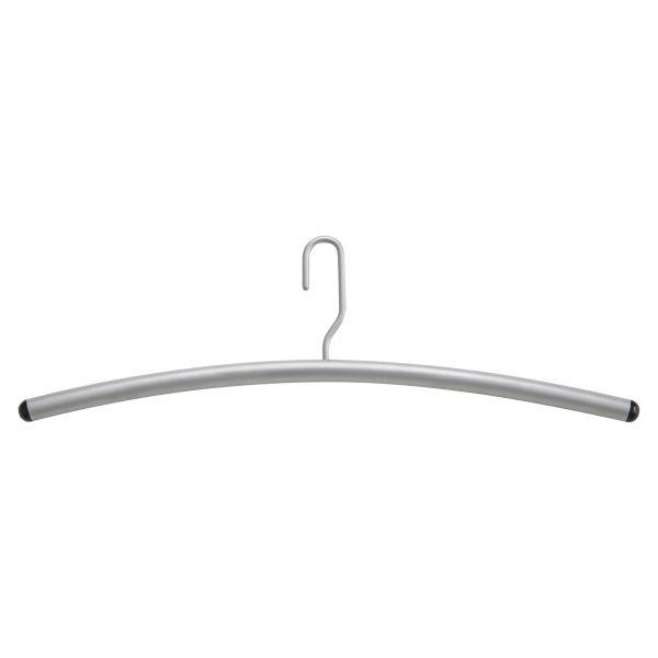 Safco Impromptu Garment Rack Hangers, Steel, Gray, 12/Pack