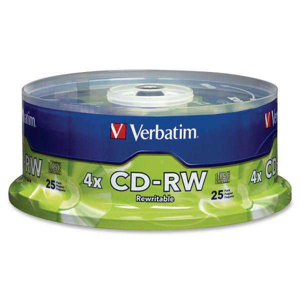 Verbatim Rewritable CD Media