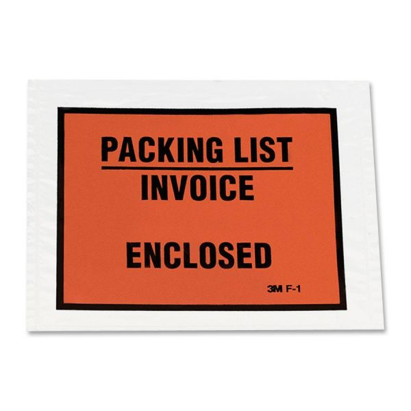 3M Full Print Packing List Envelopes