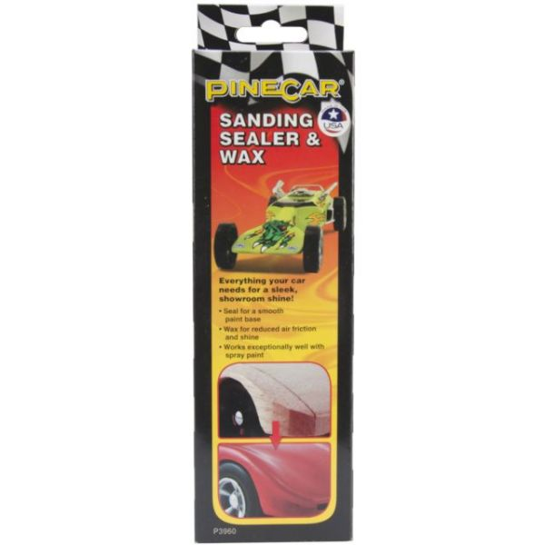 Pine Car Derby Sanding Sealer & Wax