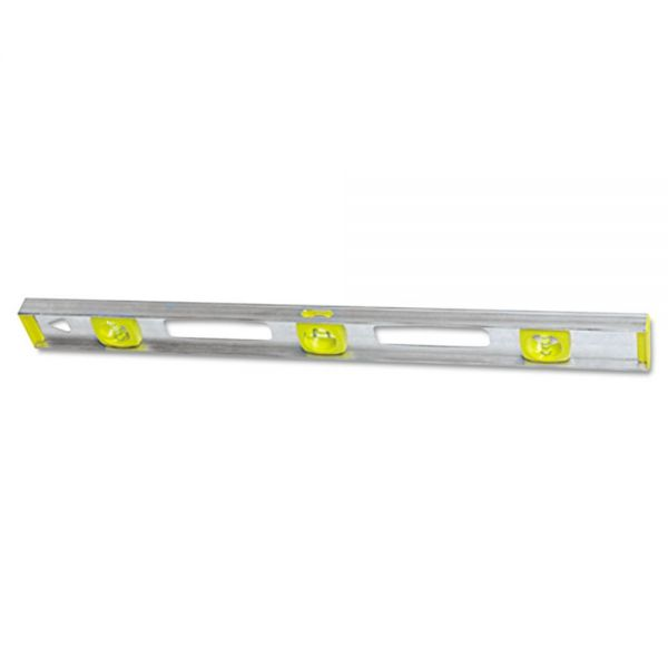 "Stanley Tools Top Read I-Beam Level, 48"", Silver, Aluminum"