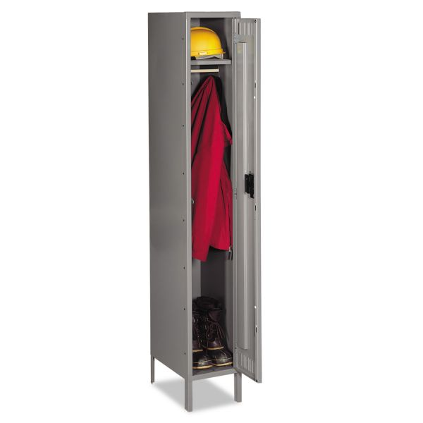 Tennsco Single-Tier Locker with Legs