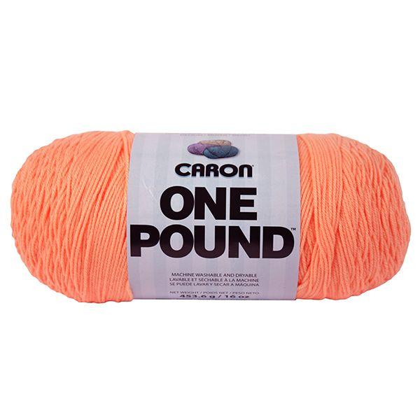 Caron One Pound Yarn - Peach