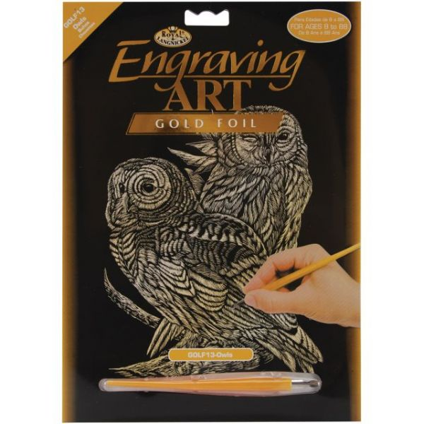 Gold Foil Engraving Art Kit