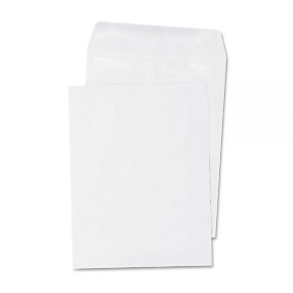 Universal Self Seal Catalog Envelope, 12 x 15 1/2, White, 100/Box