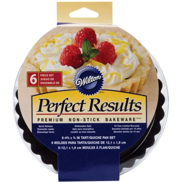 Perfect Results Tart/Quice Pans 6/Pkg